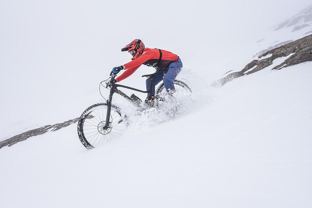 Sarenne-snowbike